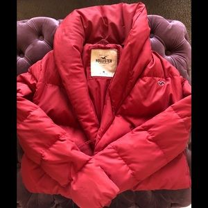 Hollister Cropped Puffer Coat